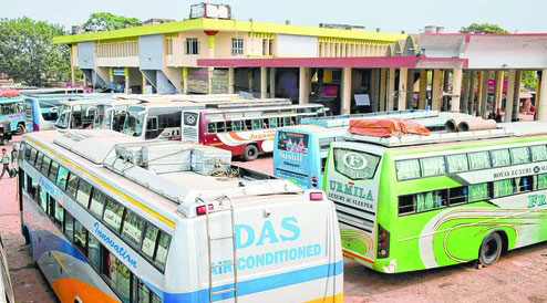 BDA to renovate Baramunda bus terminal