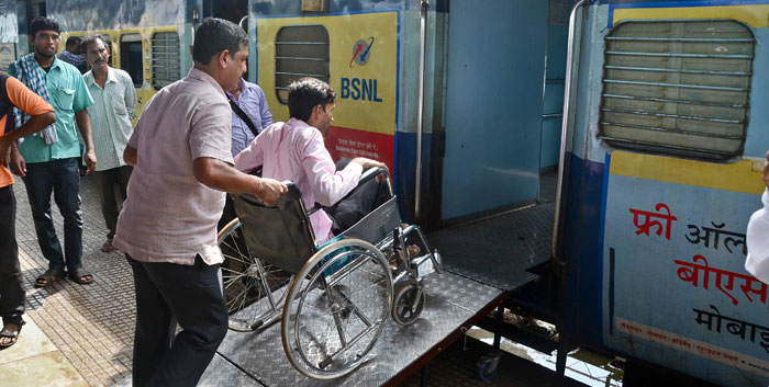 ECoR introduces ramp for wheelchair at Bhubaneswar