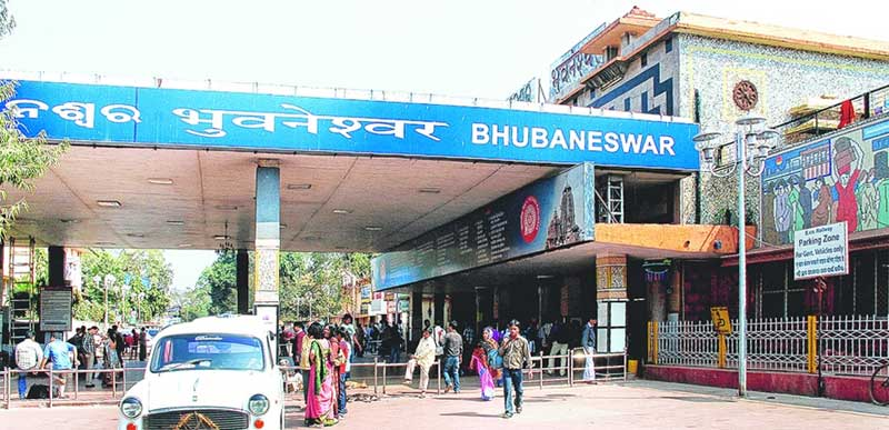 Iconic building Bhubaneswar railway station soon