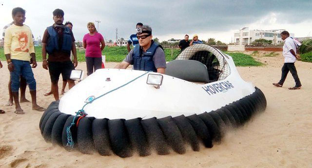 Puri to offer hovercraft fun to tourists soon