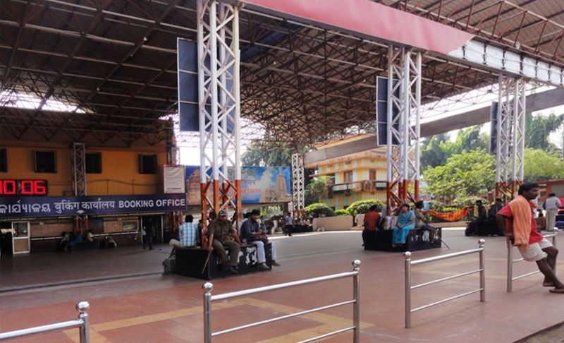 New FOBs at Bhubaneswar, Bhadrak railway stations