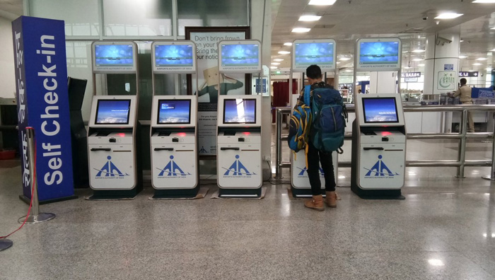 Self check-in Kiosks installed in BPI Airport
