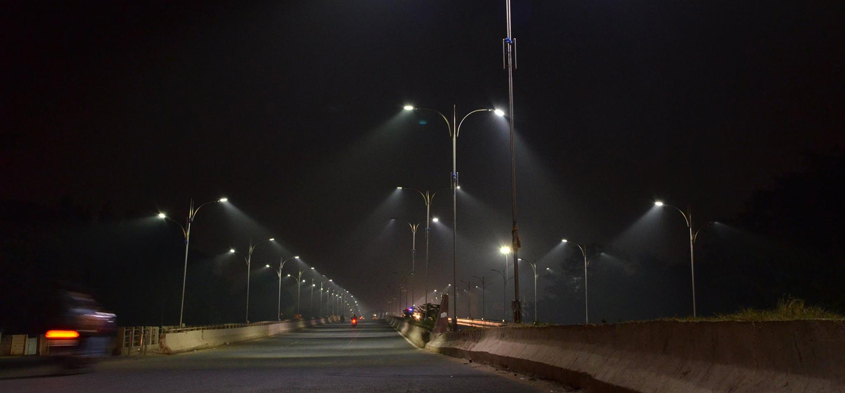 Installation of 35,000 lights on Bhubaneswar Streets