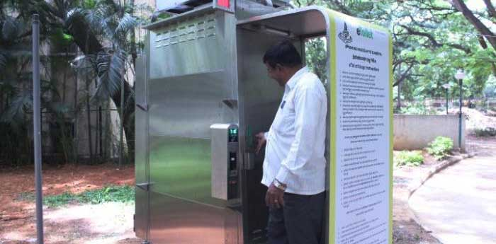 Modular toilets to be installed in the Capital city