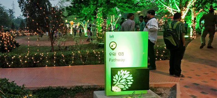 BBSR parks embellish with beautiful signage