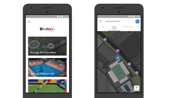 'BhuNav', navigation app for BBSR hockey fans