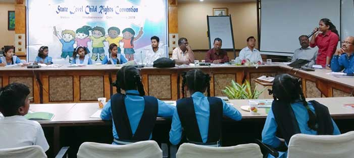 State-Level Convention on Child Rights held in city
