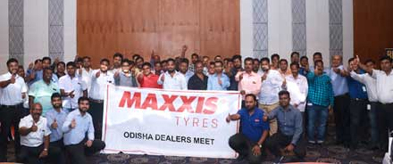 Maxxis Tyres Dealers Meet in Bhubaneswar